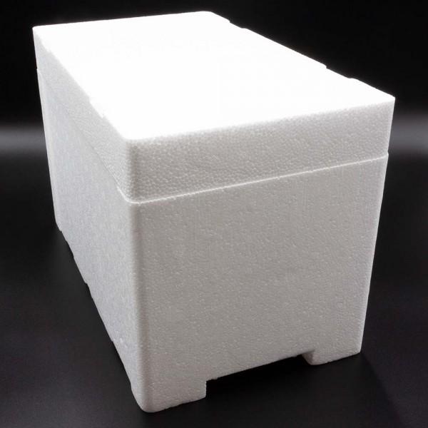 Styroporbox - 9,0 Liter - 380 x 220 x 245 mm