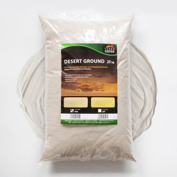 Desert Ground - beige 25 kg Terrariensand