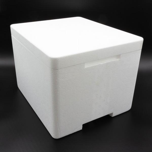 Styroporbox Pro - 18,1 Liter - 395 x 335 x 280 mm / 3,5 cm Wandstärke