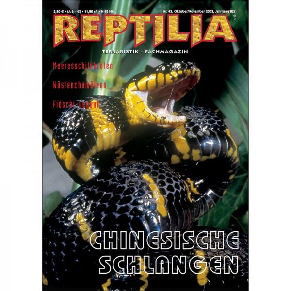 Reptilia 44 - Chinesische Schlangen