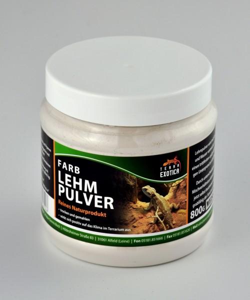 Lehmpulver - weiß 800 g in Dose
