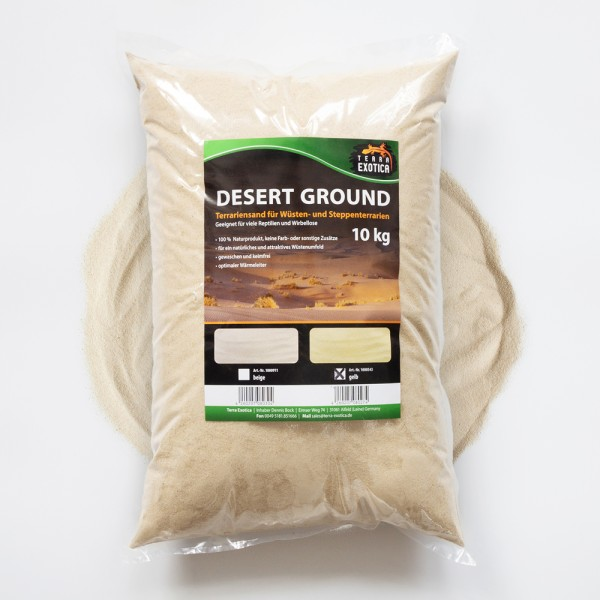 Desert Ground - gelb 10 kg Terrariensand