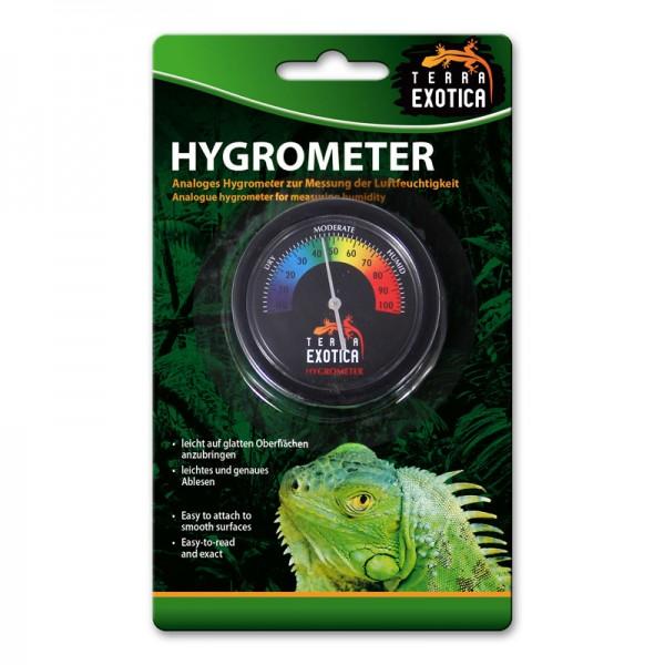 Hygrometer analog - farbige Skala