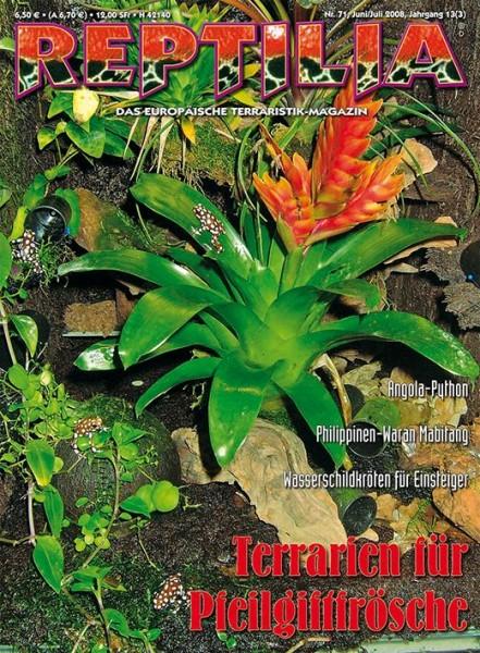 Reptilia 71 - Terrarien für Pfeilgiftfr.