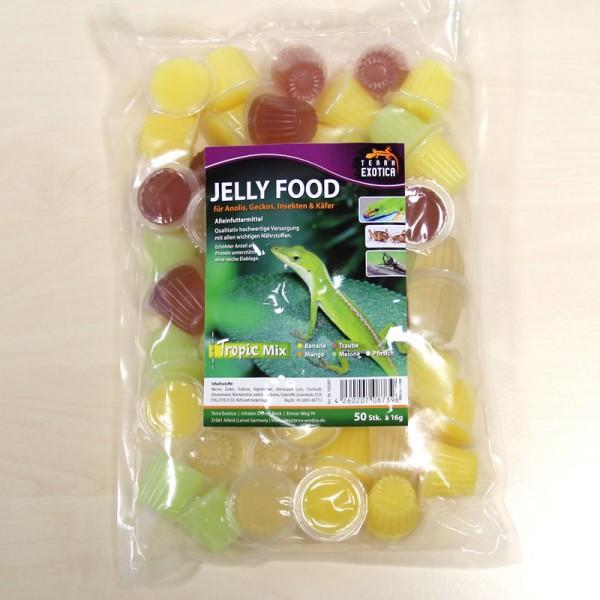Jelly Food - Tropic-Mix 50 Stück à je 16 g im Beutel