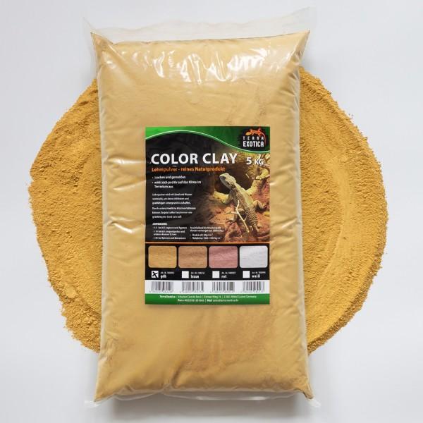 Lehmpulver - gelb 5 kg
