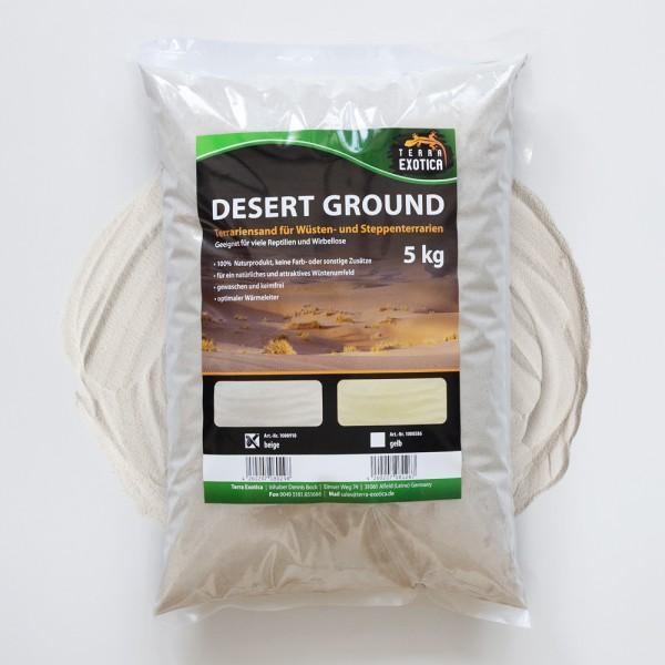 Desert Ground - beige 5 kg Terrariensand