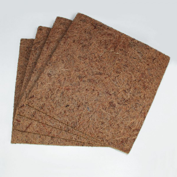 Kokosfasermatte 50 x 50 cm - 4er Set