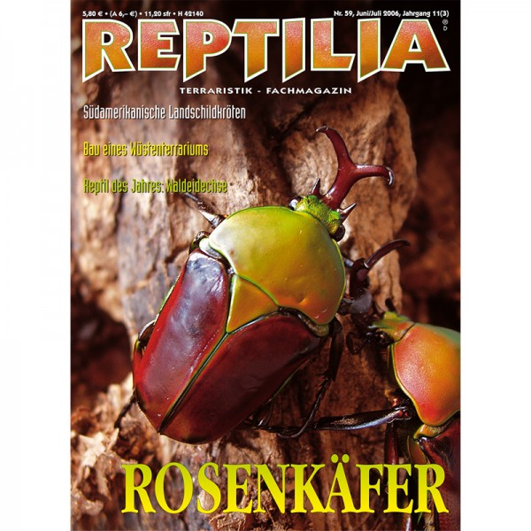 Reptilia 59 - Rosenkäfer