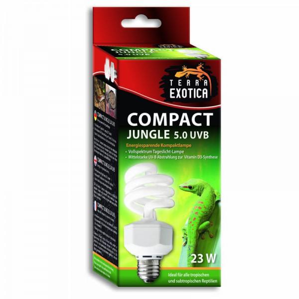 Compact Jungle 5.0 UVB - Energiesparende Kompaktlampe