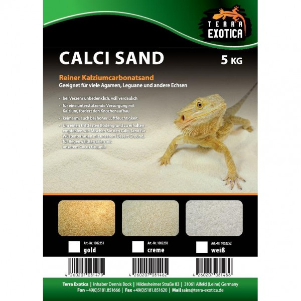 Calci Sand - gold 5 kg
