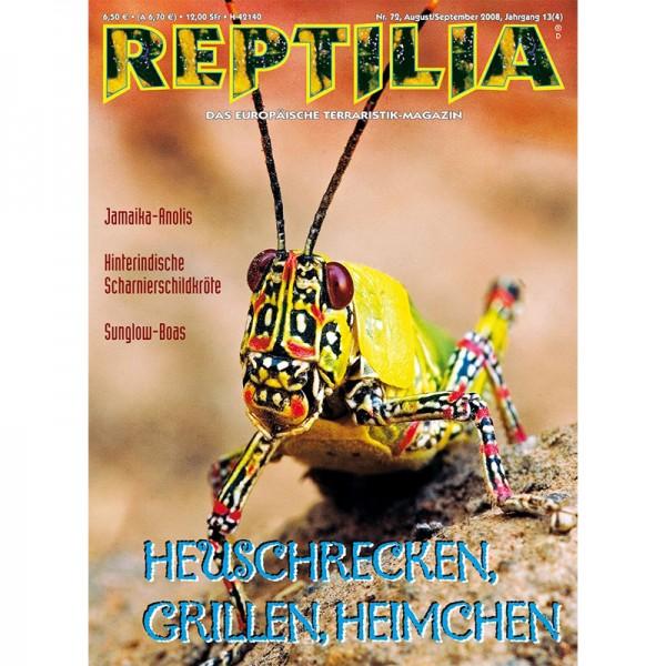 Reptilia 72 - Heuschrecken im Terrarium