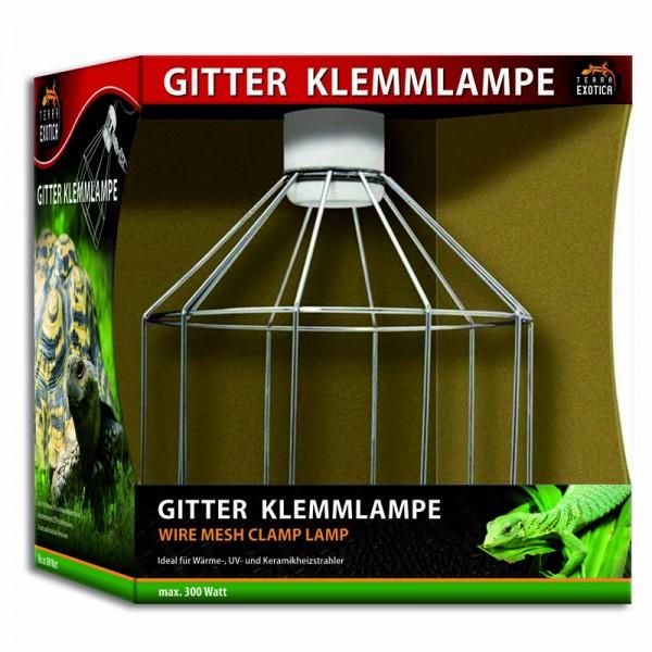 Gitter Klemmlampe - Wire Mesh Clamp Lamp