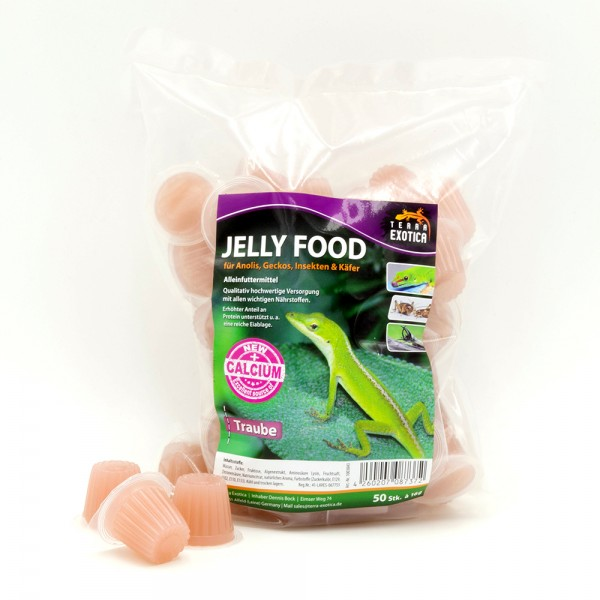 Jelly Food - Traube 50 Stück à je 16 g im Beutel
