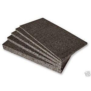 Schwarzkork Rückwand 100 x 50 x 2 cm