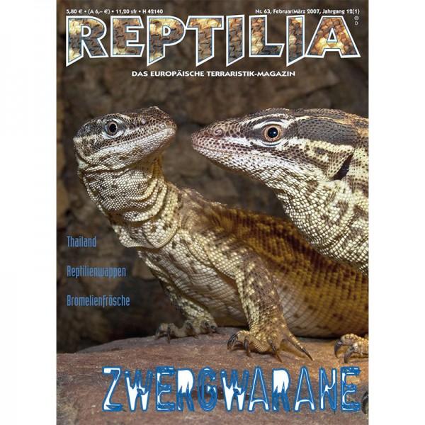 Reptilia 63 - Kleinwarane