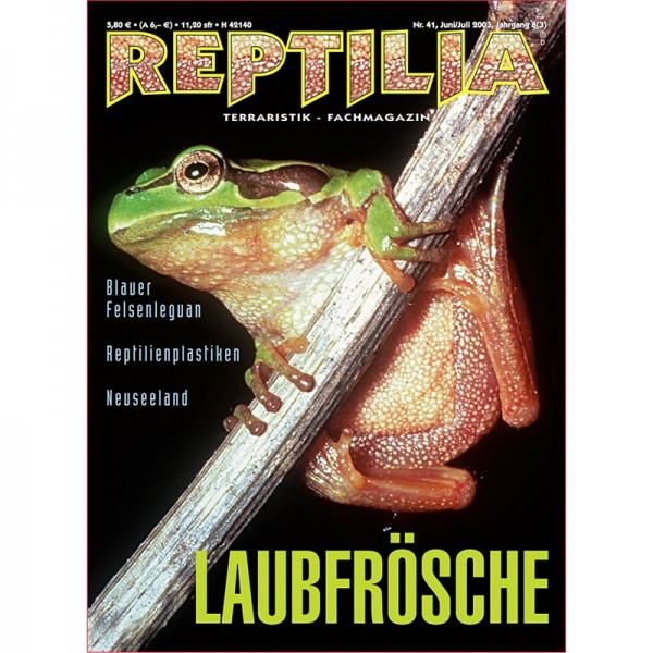 Reptilia 41 - Laubfrösche