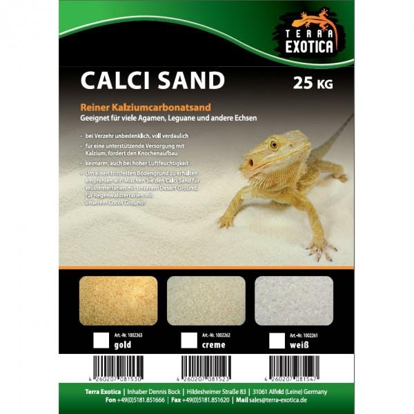 Calci Sand - gold 25 kg