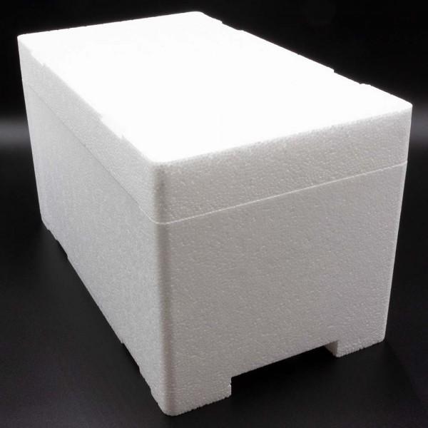 Styroporbox - 8,0 Liter - 380 x 220 x 220 mm