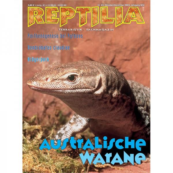 Reptilia 43 - Australische Warane