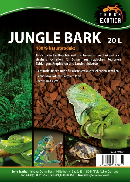 Jungle Bark 20 Liter