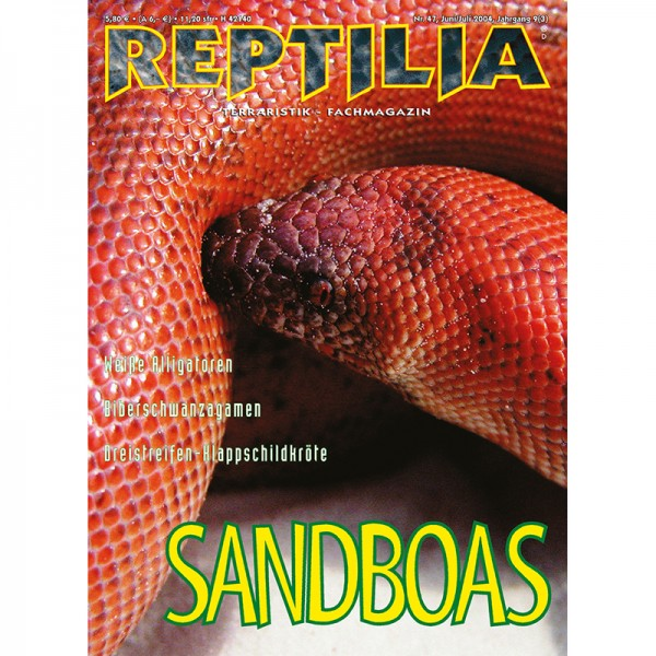 Reptilia 47 - Sandboas