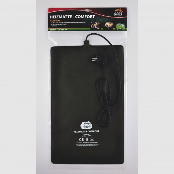 Heizmatte - Comfort 30 Watt - 30 x 50 cm