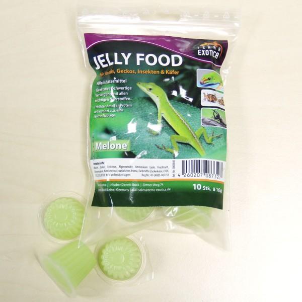 Jelly Food - Melone 10 Stück à je 16 g im Beutel