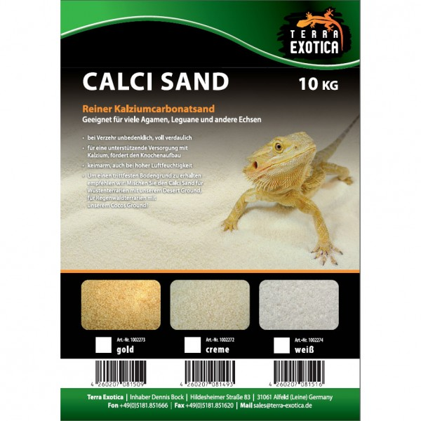 Calci Sand - weiß 10 kg