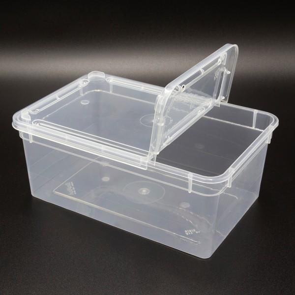 Dose 1,3 Liter 18,5 x 12,5 x 7,5 cm - transparent