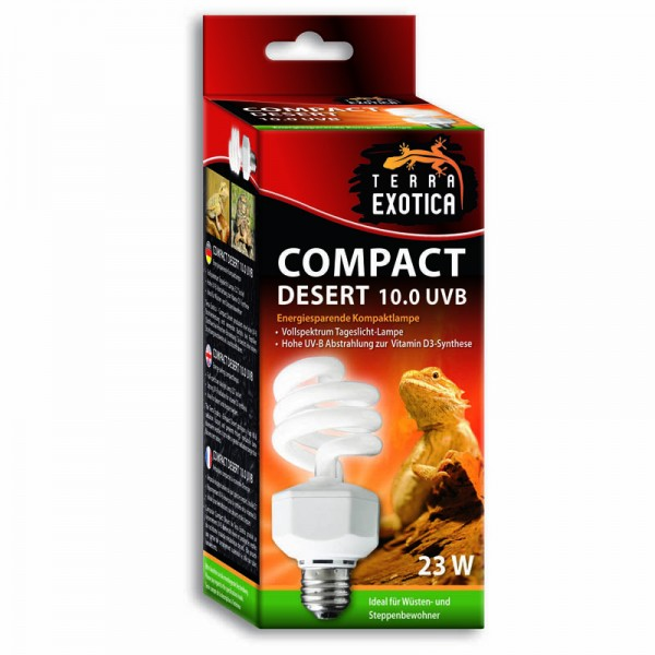 Compact Desert 10.0 UVB - Energiesparende Kompaktlampe