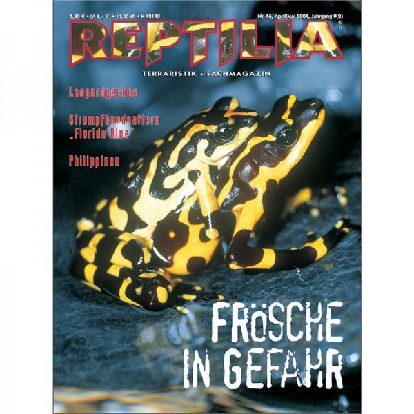 Reptilia 46 - Frösche in Gefahr