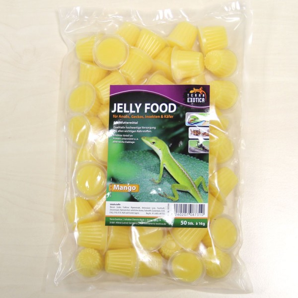 Jelly Food - Mango 50 Stück à je 16 g im Beutel