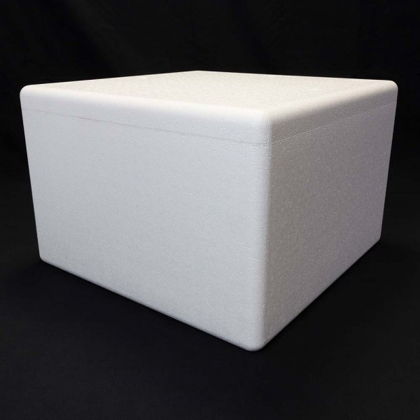 Styroporbox - 56,0 Liter - 530 x 530 x 355 mm