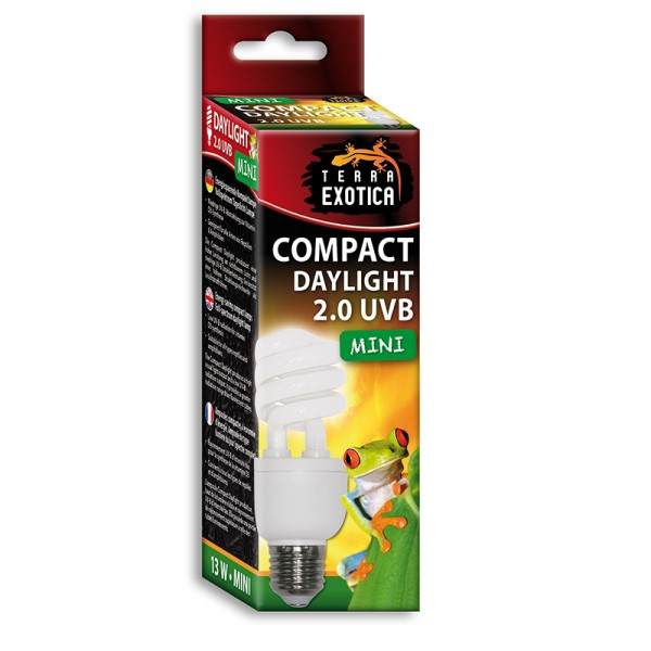 Compact Daylight 2.0 UVB - Mini - Energiesparende Kompaktlampe