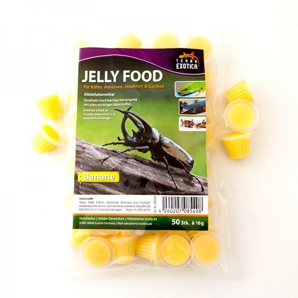 Jelly Food - Banane 50 Stück à je 16 g im Beutel