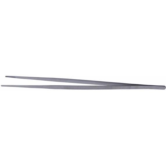 Edelstahl Futterpinzette - gerade 60 cm