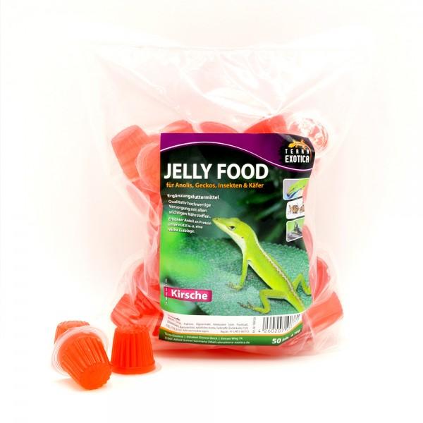 Jelly Food - Kirsche 50 Stück à je 16 g im Beutel
