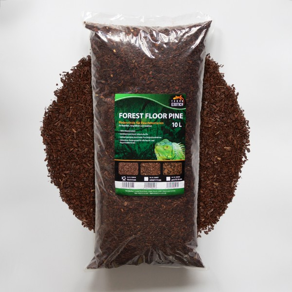 Forest Floor Pine 10L - Pinie fein 0 -8 mm