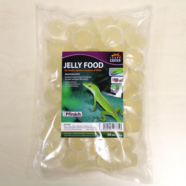 Jelly Food - Pfirsich 50 Stück à je 16 g im Beutel
