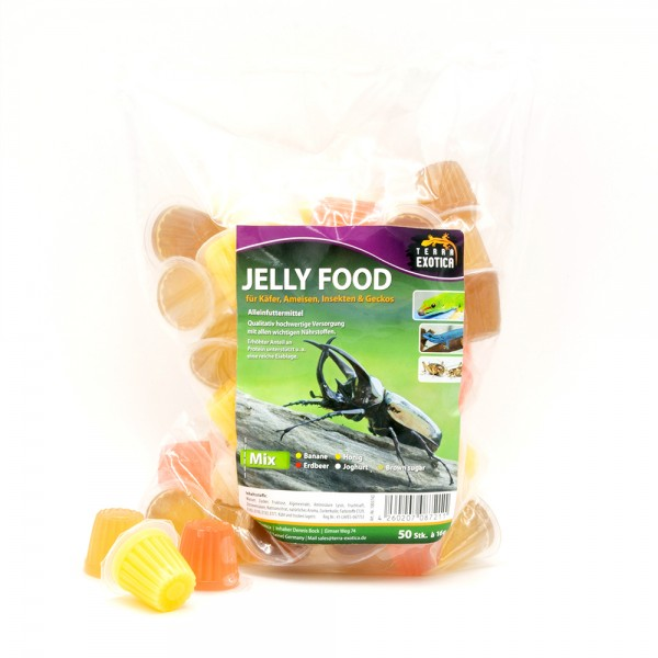 Jelly Food - Mix 50 Stück à je 16 g im Beutel