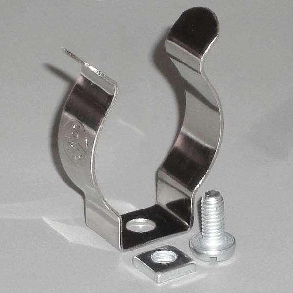 Federstahlklammer für T8-Röhre / Stück