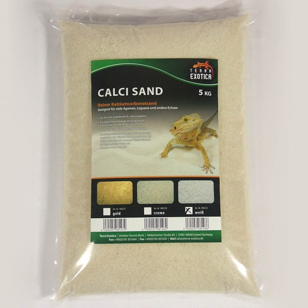 Calci Sand - weiß 5 kg
