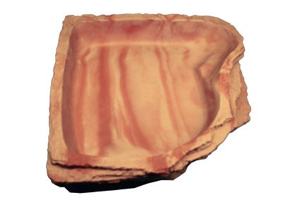 Eckwasserschale maxi - sandstone