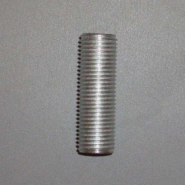 Gewinderohr M10 x 1 x 30 mm für Porzellanfassung mit Gewinde