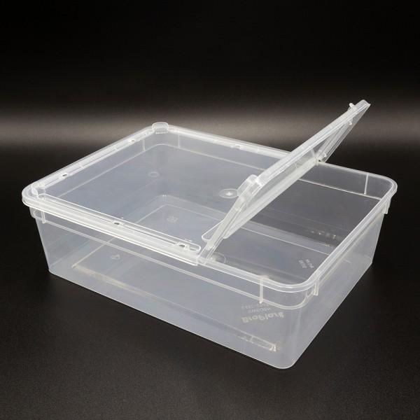 Dose 3,0 Liter 24,5 x 18,5 x 7,5 cm - transparent