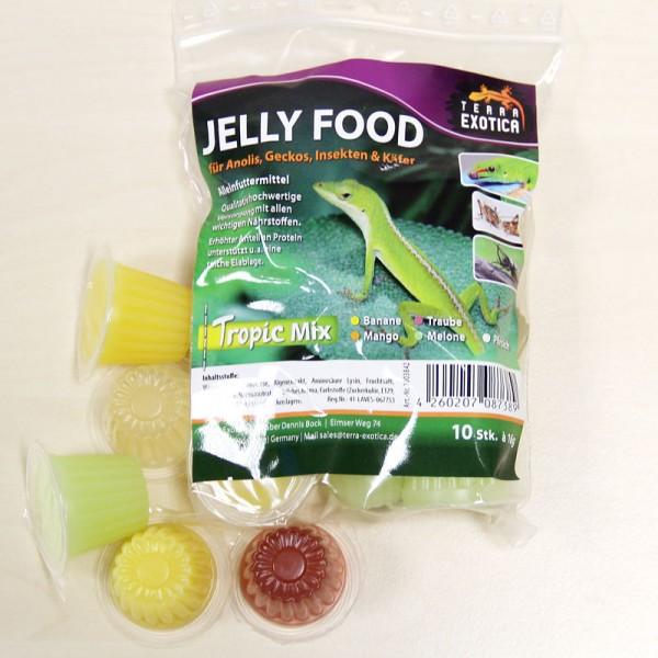 Jelly Food - Tropic-Mix 10 Stück à je 16 g im Beutel