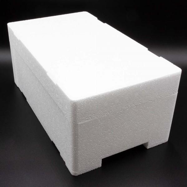 Styroporbox - 5,0 Liter - 380 x 220 x 160 mm