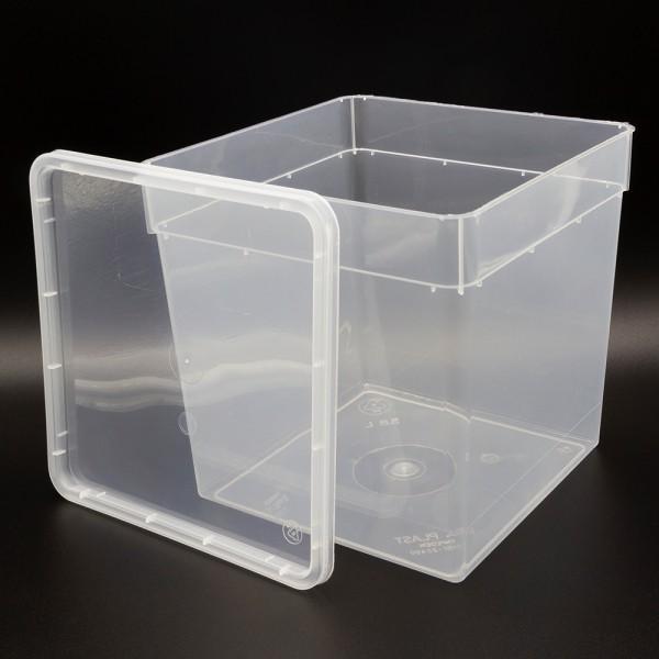 Dose 5,8 Liter 18,5 x 18,5 x 19,0 cm - transparent