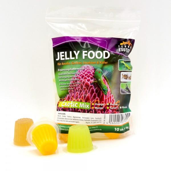 Jelly Food - Exotic-Mix 10 Stück à je 16 g im Beutel